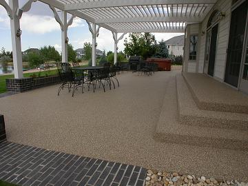 EverStone Front Range Is Coloradou0027s Premier Epoxy Stone Floor Surface  Installation Company Offering Concrete Resurfacing With Natural River Stone  Epoxy ...