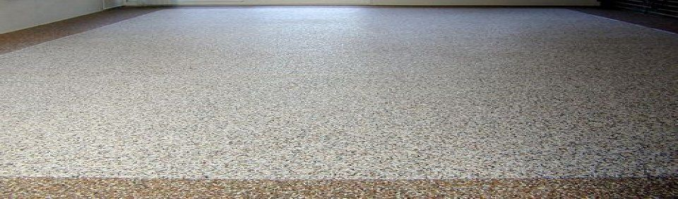 epoxy stone garage floors
