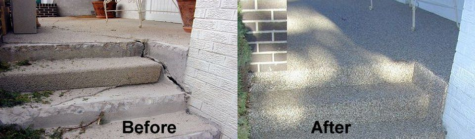 epoxy stone concrete resurface