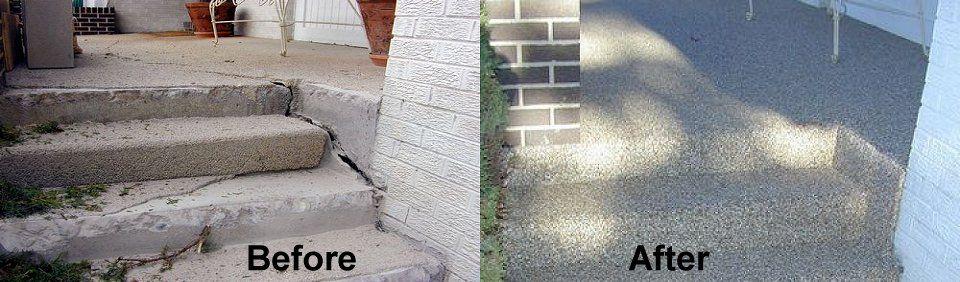 epoxy stone concrete resurface